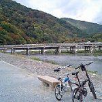 京都 嵐山サイクリング