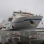 商船三井フェリー新造船「さんふらわあふらの」スーペリア(その2)
