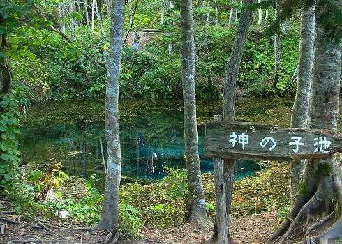 神の子池3