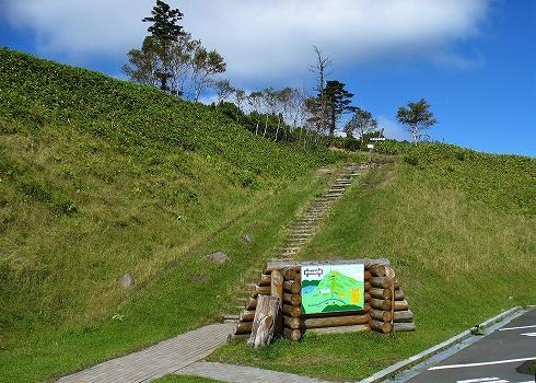 藻琴山登山03