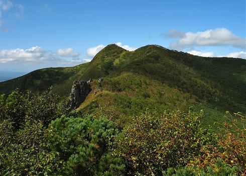 藻琴山登山05