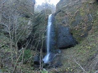 夕染の滝1