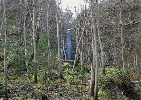 夕染の滝7