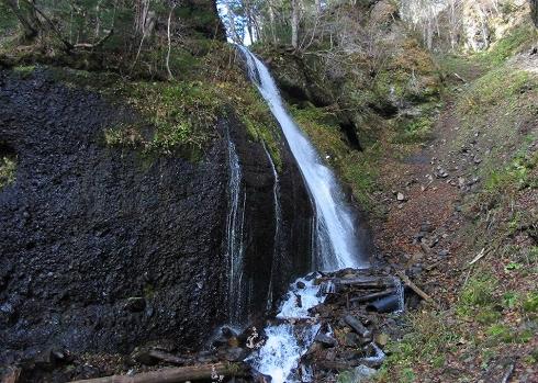 夕染の滝9