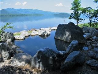 屈斜路湖畔の温泉群1