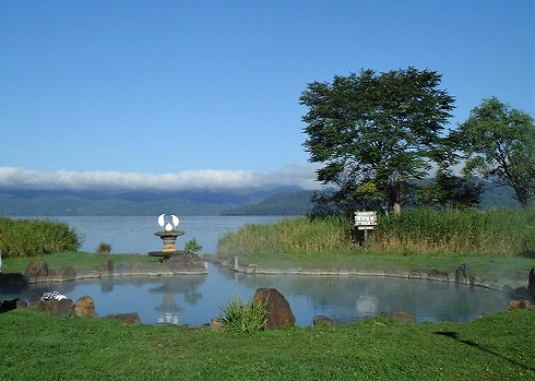 屈斜路湖畔の温泉群6