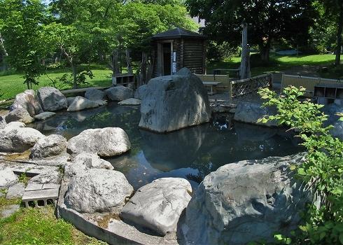 屈斜路湖畔の温泉群8