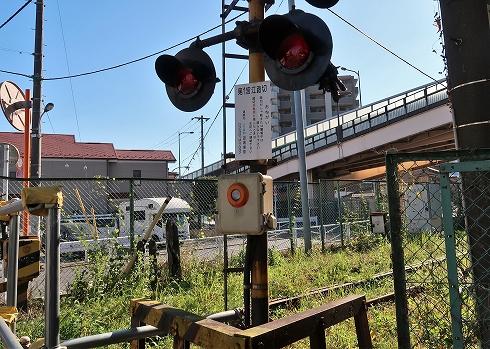 北王子線跡の緊急停止ボタン