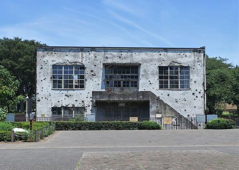 旧日立航空機立川工場変電所2